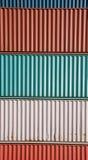 Grapa del contenedor para mercancías fotografía de archivo libre de regalías
