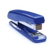 Grapadora azul foto de archivo