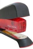 Grapadora roja profesional Imagen de archivo libre de regalías