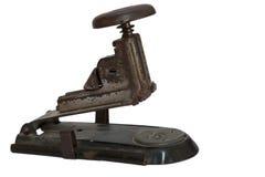 Grapadora vieja del metal Foto de archivo