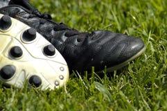 Grapas del fútbol Imagen de archivo
