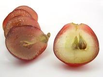 Grape. Slice stock photos