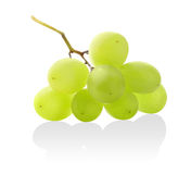 Isolated bunch of grapes Royalty Free Stock Photos