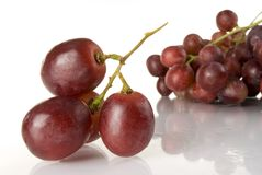 Grape. Wet red grape close up Royalty Free Stock Photography