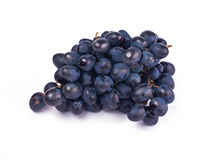Grape. Blue grape on a white background Royalty Free Stock Photography