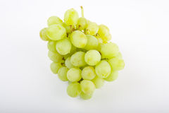 Grape. Picture of a green grape on white background Stock Images