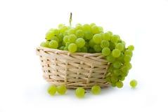 Grape in basket royalty free stock photo