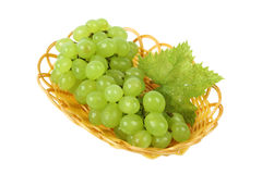 Grape in the basket Stock Photo