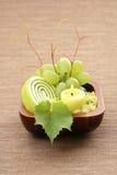 Grape bath Stock Images