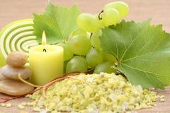 Grape bath Stock Photos