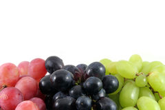 Grape berrys for text Stock Photography
