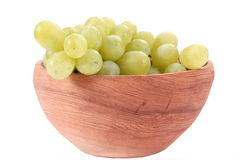 Grape in bowl Stock Photography