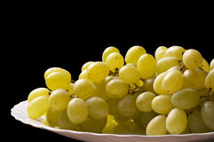 Grape bunch fragment Royalty Free Stock Image