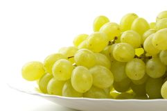 Grape bunch fragment Stock Photo