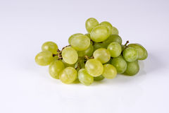 Grape. Bunch of grapes on white background Royalty Free Stock Images