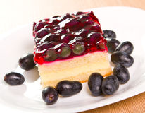 Grape cake Royalty Free Stock Photo
