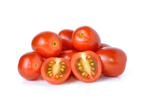 Grape or cherry tomatoes Stock Photography