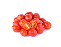 Grape or cherry tomatoes Stock Images