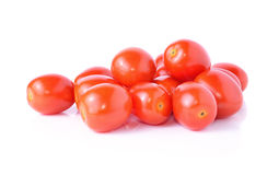 Grape or cherry tomatoes Royalty Free Stock Photos