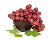 Grape cluster. Very clean grape  on white backgroud Royalty Free Stock Photo
