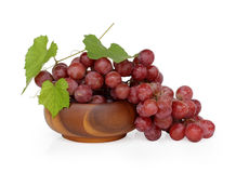 Grape cluster. Very clean grape white isolated Stock Photo