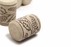 Grape cork Royalty Free Stock Images