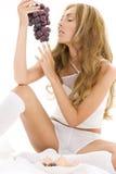 Grape desire Stock Photography