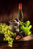 Grape and figs Stock Image