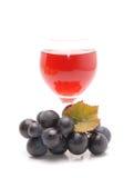 Grape flavor soft drinks Stock Photos