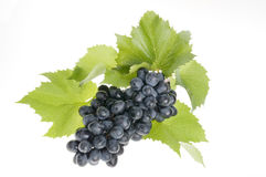 Grape food over white Stock Photo