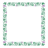 Grape frame Royalty Free Stock Photo