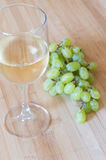 Grape fruits and wine Royalty Free Stock Photo