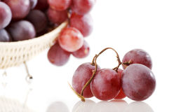 Grape in gab isolated Stock Photo