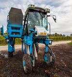 Grape Harvester III Royalty Free Stock Photo