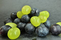 Grape. On the image are red and white grape stock photography