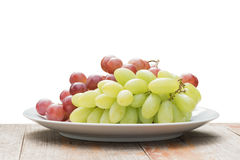 Grape and isolated Stock Image