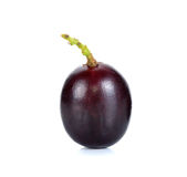 Grape isolated on the white back ground Stock Photos