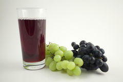 Grape juice Stock Image