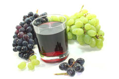 Grape juice Royalty Free Stock Photography