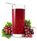 Grape juice Stock Photo