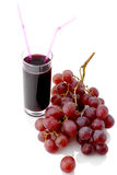 Grape and juice Royalty Free Stock Photography