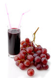 Grape and juice Royalty Free Stock Images