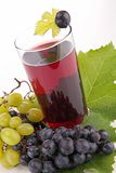 Grape juice Stock Photos