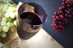 Grape with juice Royalty Free Stock Photos
