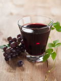Grape juice Stock Photography