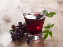 Grape juice Royalty Free Stock Image