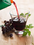 Grape juice Royalty Free Stock Images