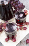 Grape Juice with Ice Stock Photography