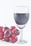 Grape juice. Royalty Free Stock Images