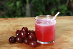 Grape juices Stock Photography